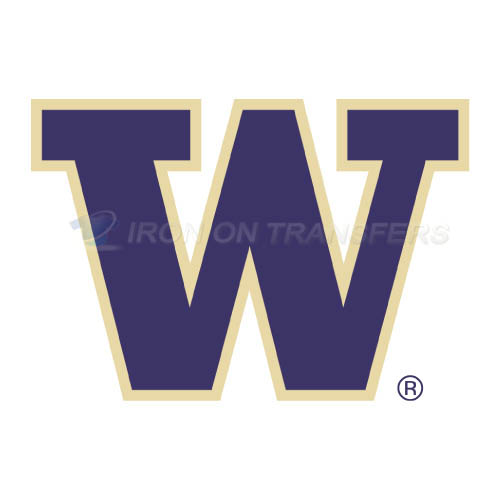 Washington Huskies Logo T-shirts Iron On Transfers N6885
